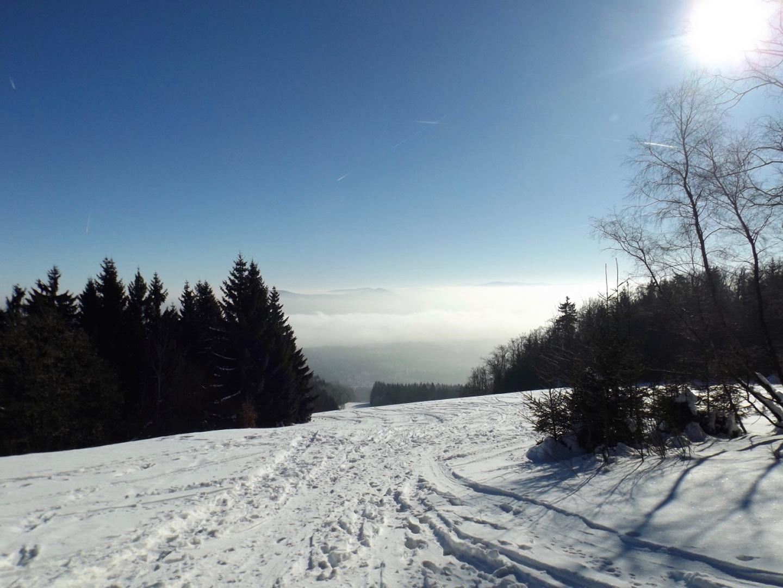 Der Waldhäuserer Skihang wird jetzt als Tourenabfahrt genutzt