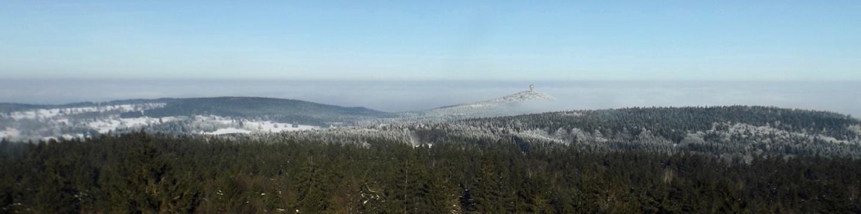 Panorama Nord mit Velký Zvon