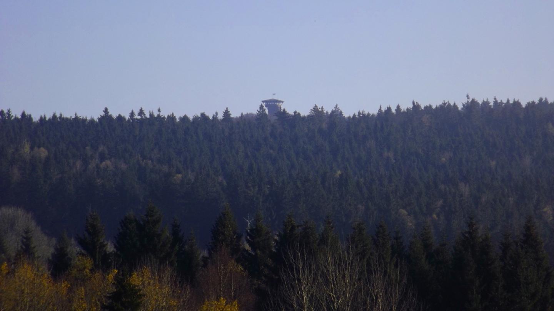 Rückblick zum Böhmerwaldturm