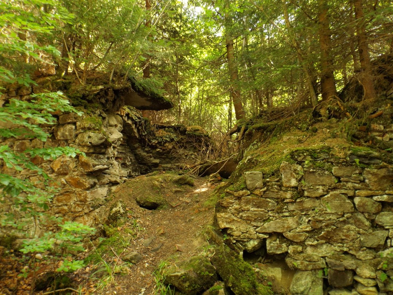 Verfallene Jagdhütte