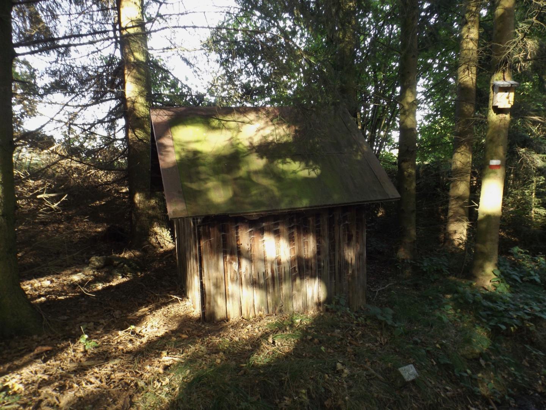 LIcht und Schatten auf einer Hütte
