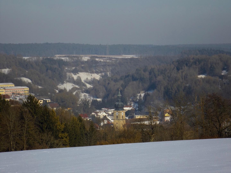 Klosterkirche Ensdorf und das Schwandorfer Tal