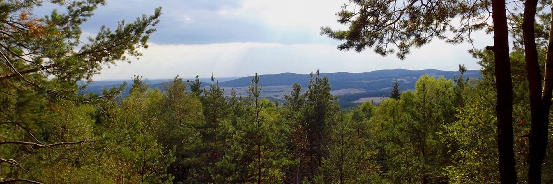 Friedrichsberg von der Steinbruchkante