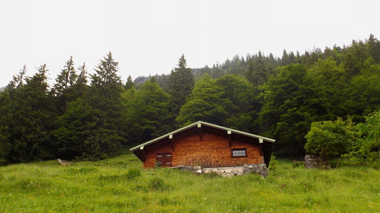 Die architektonisch gelungene Untere Hütte