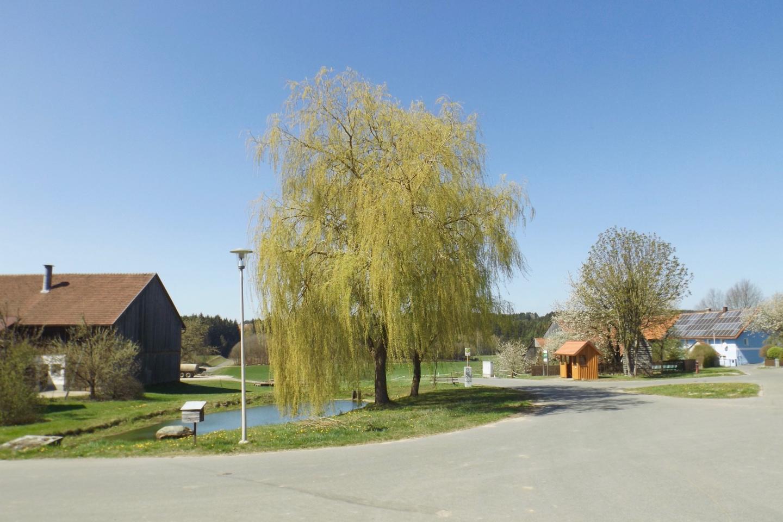 Netter Dorfplatz in Schönthan
