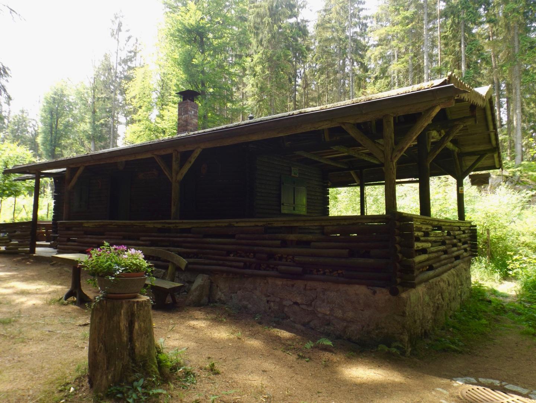 Blockhütte des OWV Bärnau