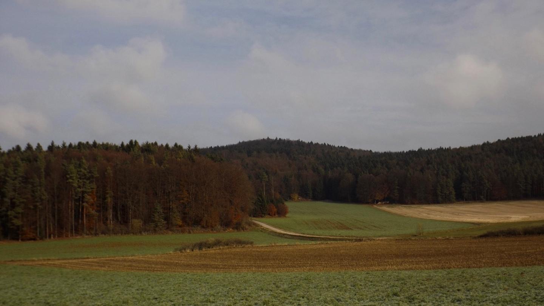 Rückblick auf den Brunnenberg