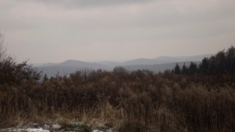 Stimmungsvolle herbstliche Hügel gibt es nicht nur im Šumava
