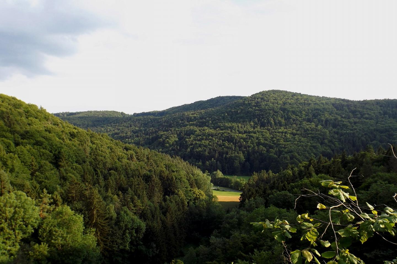 Panorama von der Teufelskanzel