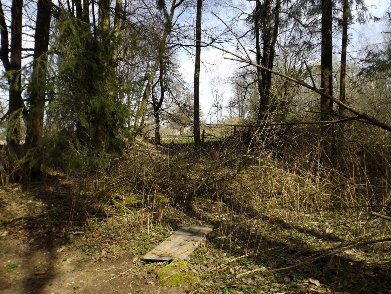 Ehemaliger Eingang zum Schlosspark