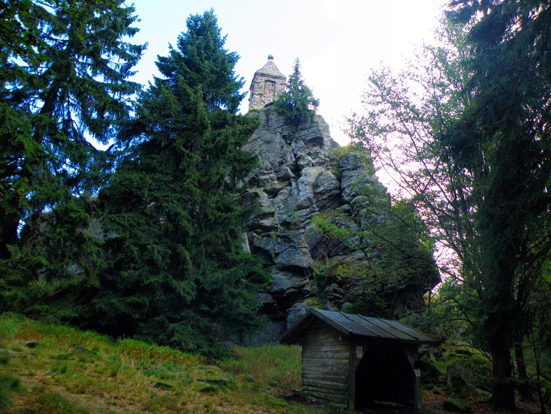 Großer Riedelstein mit Waldschmidtdenkmal