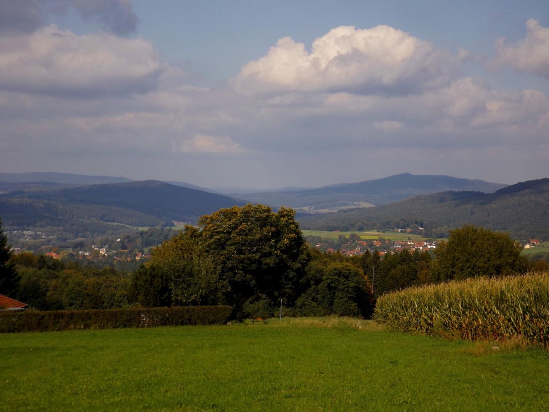 Das Tal der böhmischen Schwarzach