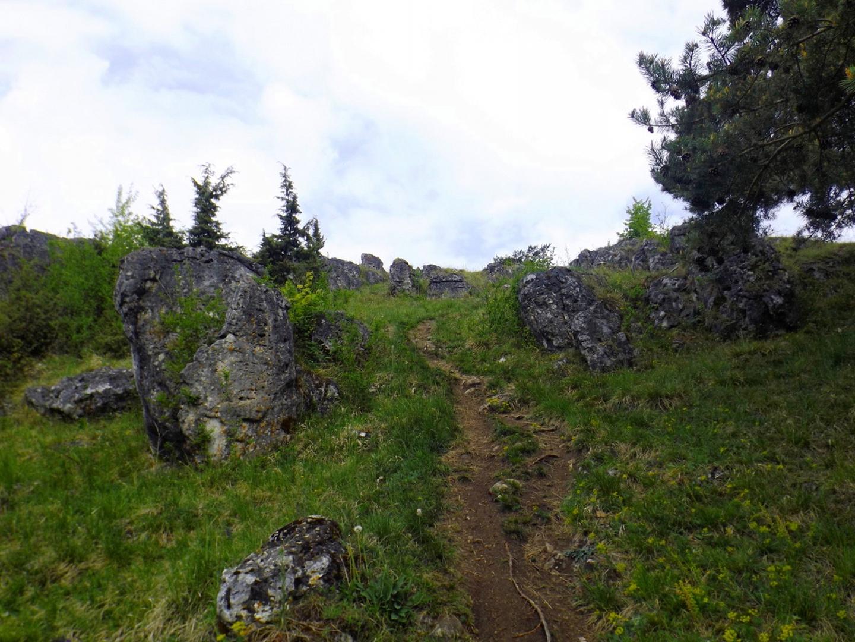 Zugang zum Steinernen Dorf (zumindest ging mir das bei diesem Anblick durch den Kopf)