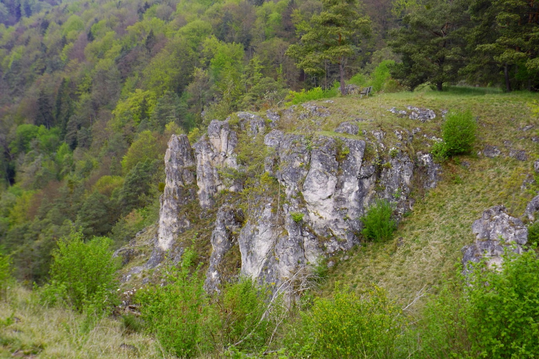 Auch noch Klettergebiet