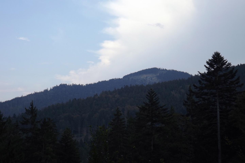 Die Gewitterwolken blieben über Bodenmais