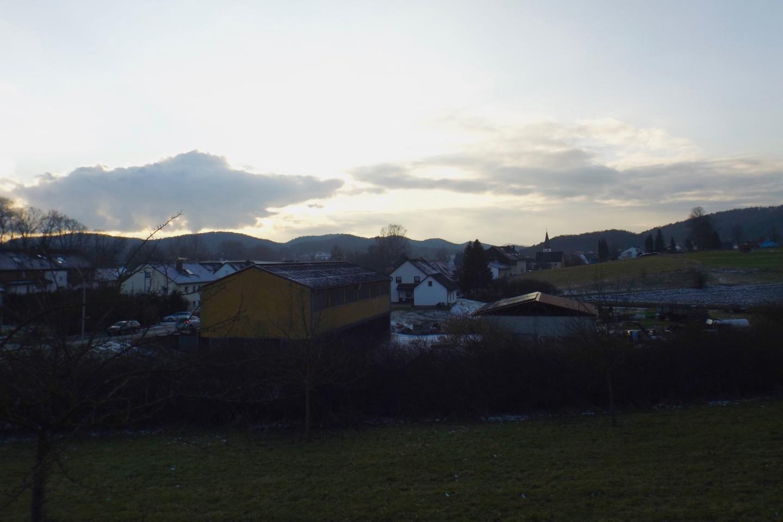 Neukirchen kurz vor Sonnenuntergang