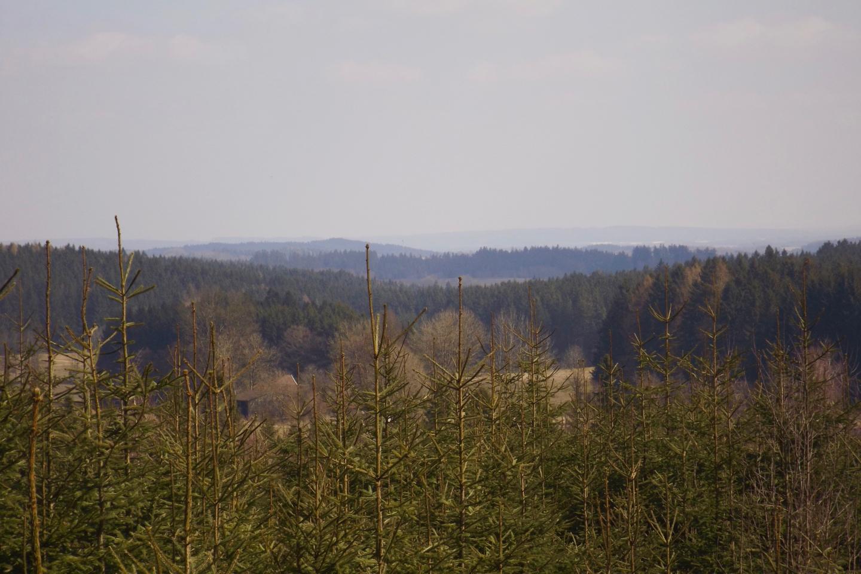 Aussicht Richtung Lesná