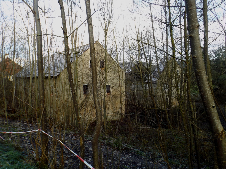 Überreste des Polierwerks