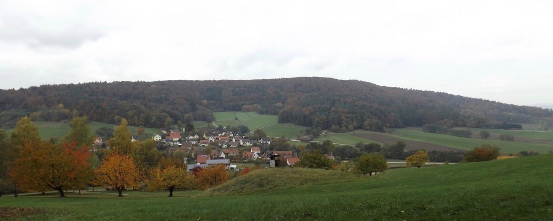 Egensbach vor dem Buchenberg
