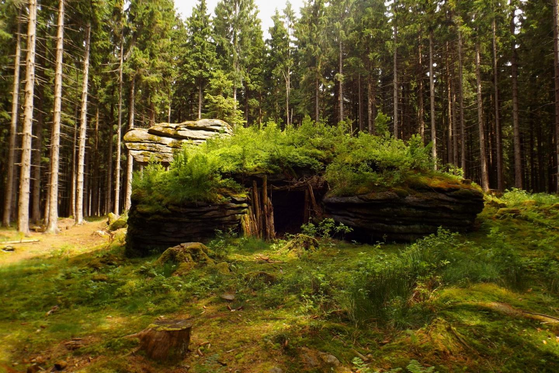 So ähnlich haben wohl vor 3000 Jahren Menschen hier gelebt