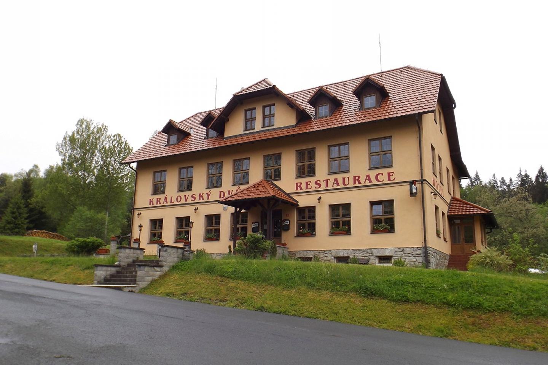 Hotel Královský Dvůr am Ausgangspunkt