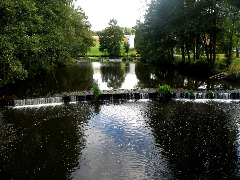 Wasserstimmung von der Tanzmühler Brücke