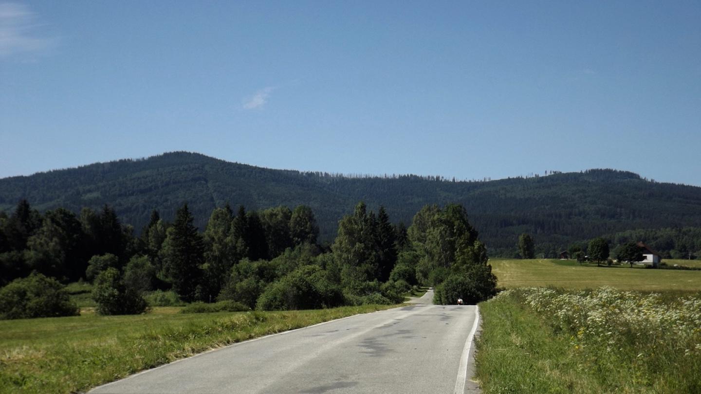The road to Hochficht