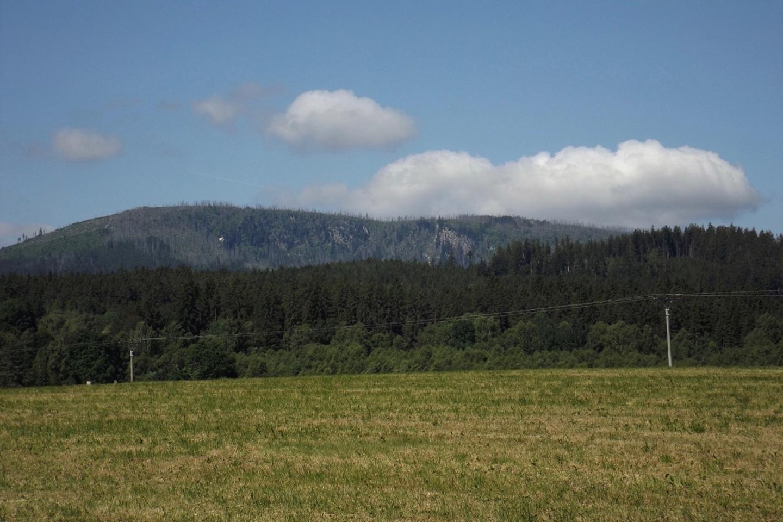 Was macht die Wolke über dem Dreiländereck??