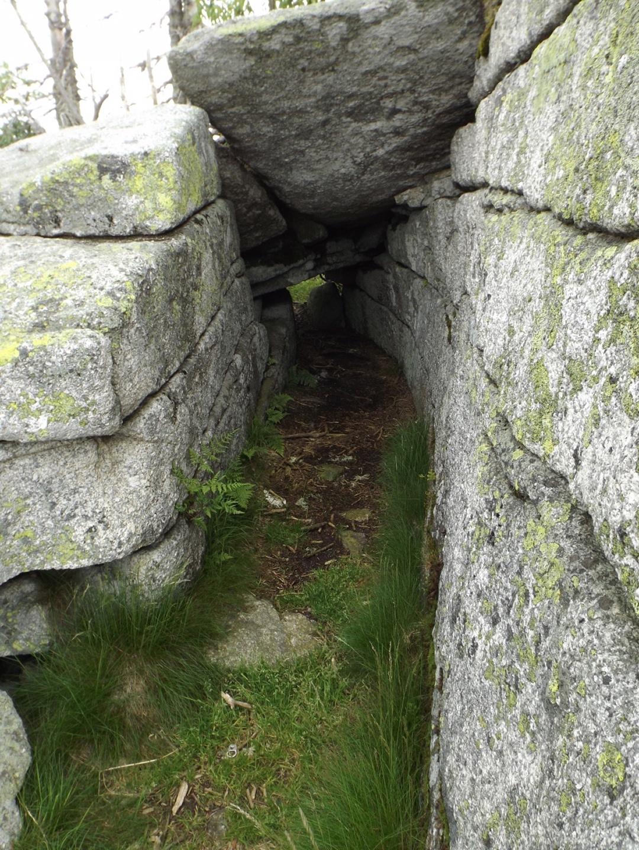 Durchkriechgraben am Bayerischen Plöckenstein