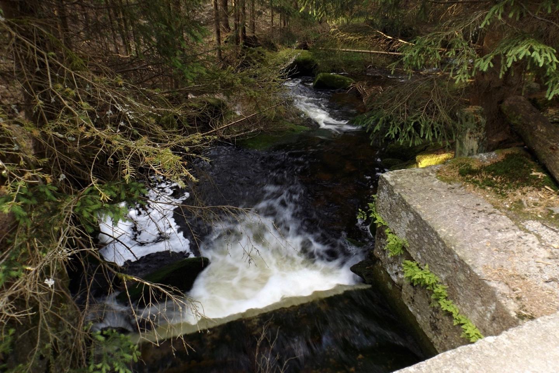 Mehr Wasser verbleibt allerdings im Bach