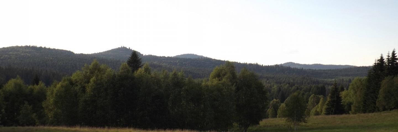 Grenzkette Richtung Řasnice