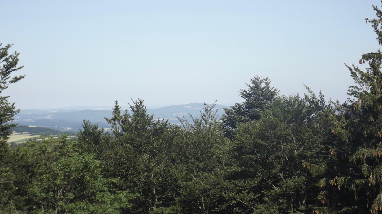 Fast freie Sicht zum Fahrenberg