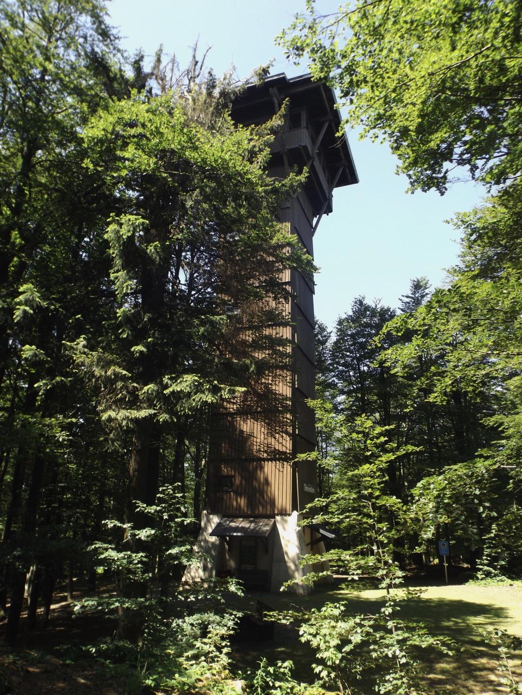 Ganz darf der Böhmerwaldturm nicht fehlen