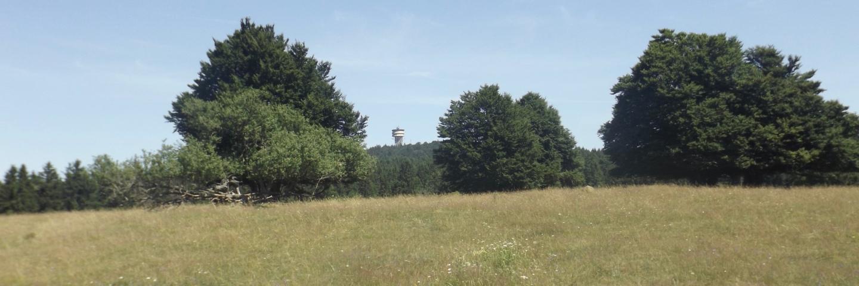 Natürlich war auch der Turm am Velký Zvon prominent