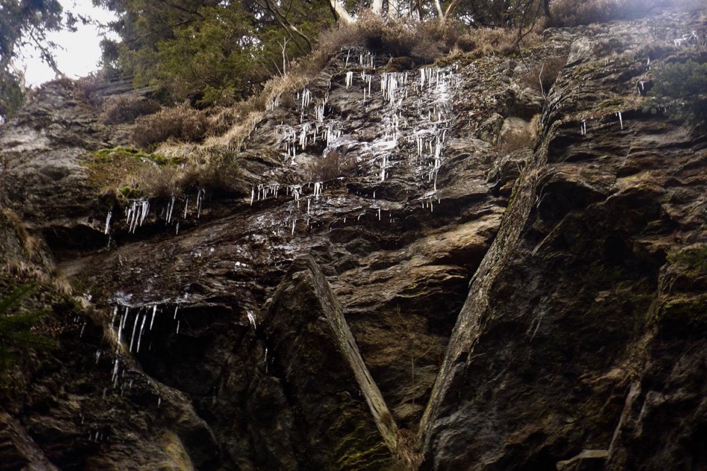 Eiszapfenwand
