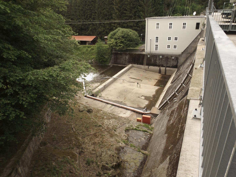 Bauarbeiten an der Mauer