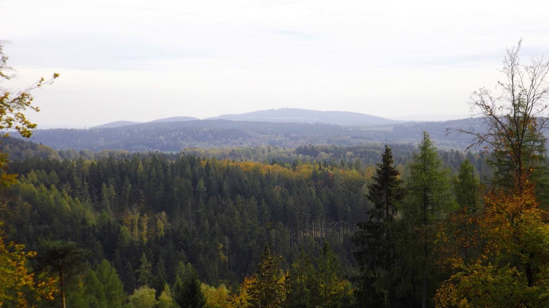 Im Süden posiert der Fahrenberg