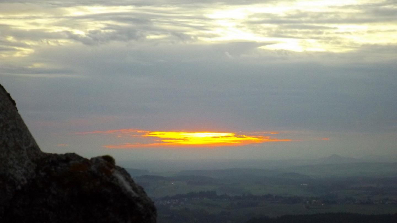 ...und dem Sonnenuntergang