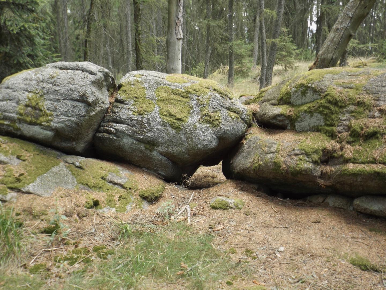 Auch Felsen haben sich lieb
