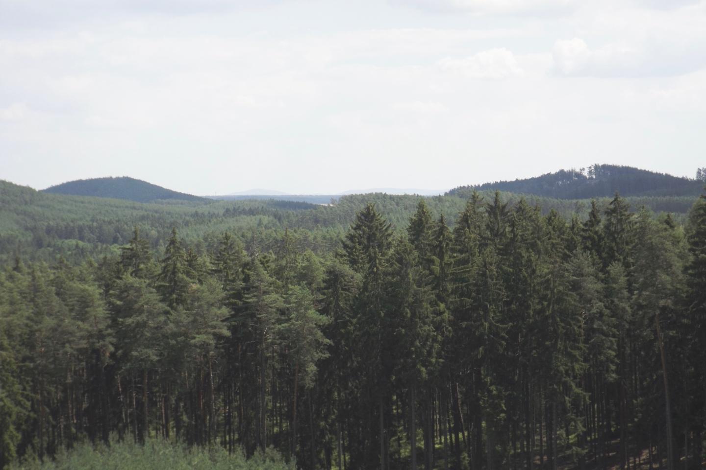 Stinný vrch und Písečný vrch
