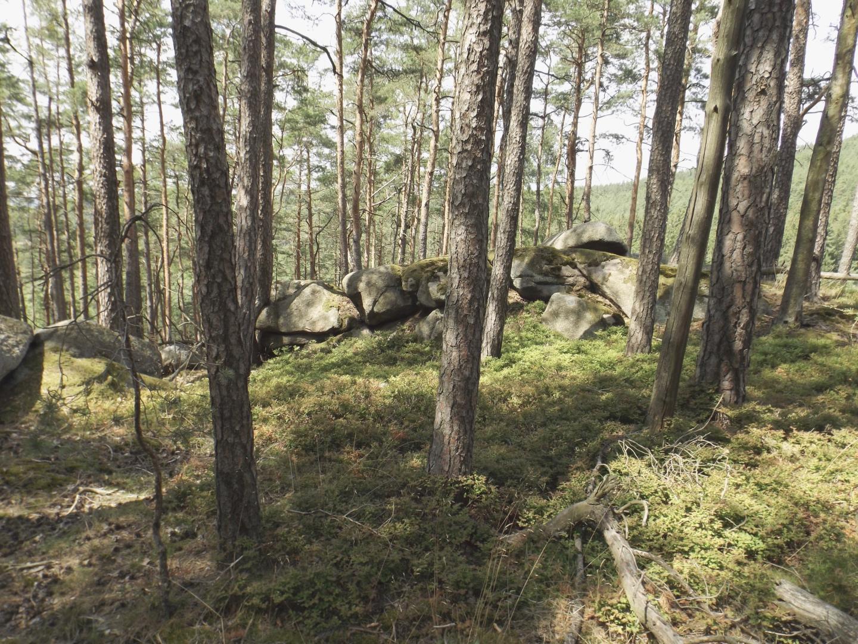 Oben auf dem Třislovec