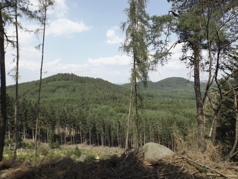 Racovský vrch und Chlum