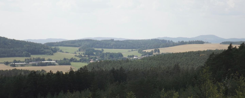 Freie Sicht zum Pfraumberg