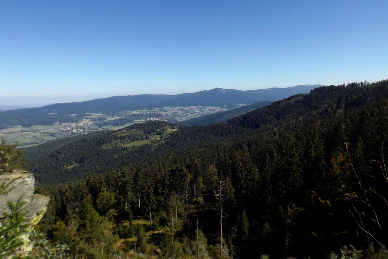 Eschlsaign vor dem Künischen Gebirge