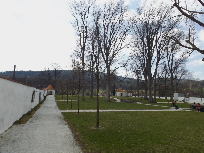 Schlossgarten von Hrádek