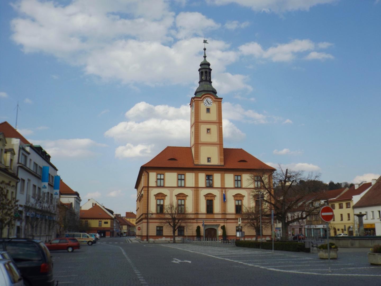 Das Rathaus von Sušice
