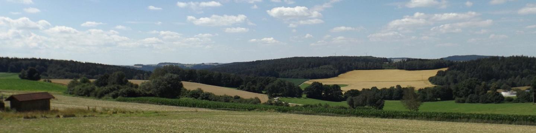 Panorama Richtung Pfreimdtal