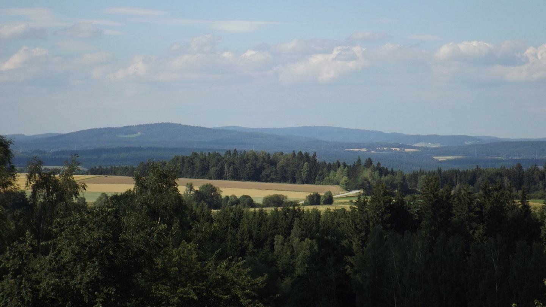 Fahrenberg, Entenbühl und Havran