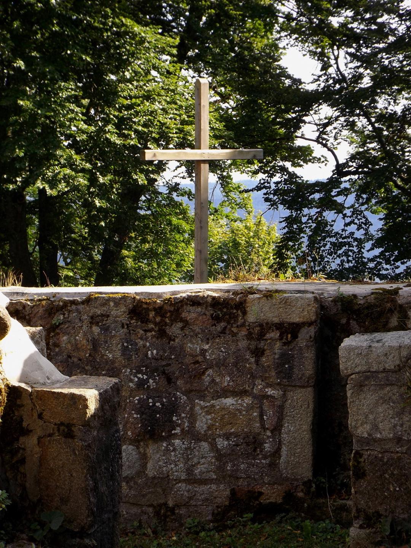 Kreuz auf der Burg