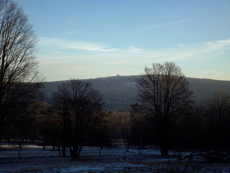 Böhmerwaldturm heute ganz klar